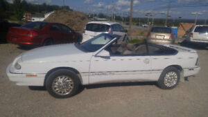 1994 CHRYSLER LEBARON CONVERTIBLE 995$