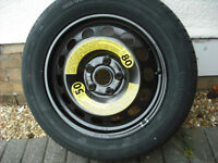 new wheel and tyre