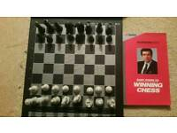 Battery operated chess board