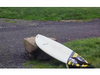 High volume surfboard