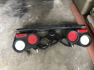 TRAILER OR TRUCK BUMPER LIGHT BAR & WIRING