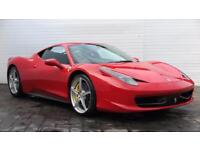 2011 Ferrari 458 2011 61 Ferrari 458 Italia 4.5 Litre 570 BHP F1 DCT Petrol red