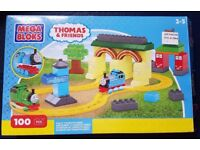 Mega Bloks, Thomas the Tank Engine, Fun At Tidmouth Sheds Train Set with Thomas and Toby