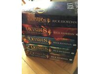 Brand new & unread - Set of 5 Heroes of Olympus Paperback Books - Percy Jackson Series