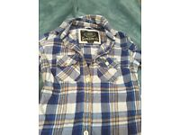 """Women's Superdry Flannel Shirt size """"small"""""""