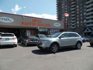 2007 Ford Edge SEL Plus, LEATHER, AWD, DUAL SUNROOF