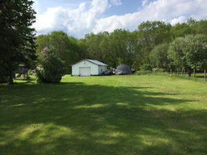 Land with garage for sale in Alexandria  ON