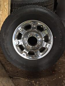 2016 f350 stock rims and tires