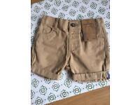 Chino shorts 18-24 months
