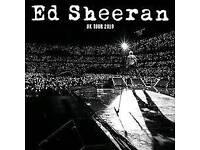 4 x Ed Sheeran tickets, Glasgow Friday 1st June
