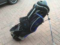 Hippo Golf Bag with stand. Never been used.