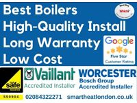 £1499 Worcester & Vaillant Supply & Fit/Expert Boiler Installation,Repair & Service/Gas certificate*