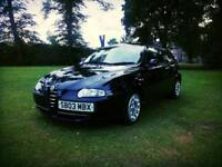 Alfa Romeo 147 1,6l,long mot , 63k may swap