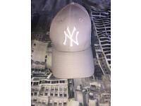 Grey New York cap