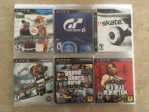 PS3 Games awesome, no scratches PlayStation