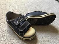 Boys clarks doodles summer shoes size 6F