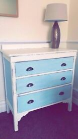 Shabby Chic drawers / dresser / sideboard - hand finished.