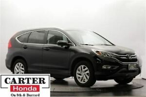2015 Honda CR-V EX-L + LOCAL + LOW KMS + LEATHER + CERTIFIED