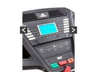 Next to new adidas T-16 treadmill motorised adjustable incline foldable NOW £525 MUST GO!!