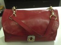 John Lewis leather handbag