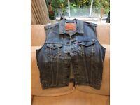 Vintage Levi Strauss Sleeveless Denim Jacket – size small