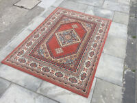Rug , in good condition . Good colours . Size 170cm x 120cm