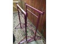 Builders trestles size 3 .x2 and x4 scaffold planks 3.9 m