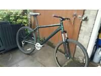 Mountain bike Aluminium frame Single front cranks