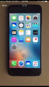 APPLE IPHONE 6 16gb*USED* SPACE GREY IN GOOD CONDITION
