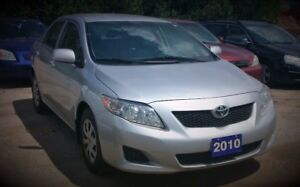 2010 Toyota Corolla S $4450 Certified and etested