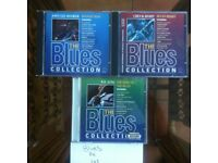 7xPacks of 3 blues CDs