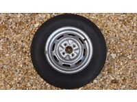 Caravan Wheell and Tyre