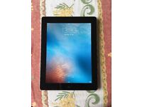 Apple iPad 2 16GB, black, wifi only. USB cable and 2 cases included