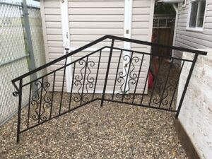 Custom Rod Iron Stair Rail