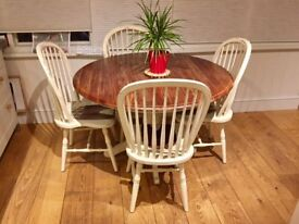 Laura Ashley Bramley Round Table and 4 Chairs