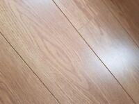 £500 worth of wood flooring