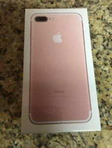 brand new iphone 7 PLUS 256GB Rose Gold unlocked wind compatible
