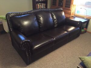 Formal Leather Couch for Sale. Delivery Available!