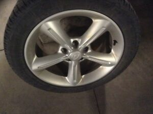 Ford mags 18 inch like new