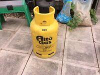 Gas bottles for bbq