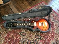 Epiphone Les Paul Left Handed Guitar and Hard case
