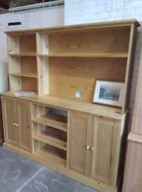 Welsh dresser manufactured in solid pine