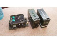 Clansman PRC-320 2x Batteries and Audio Unit