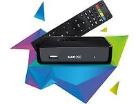 Magbox250/254 with 12 months IPTV /VOD and EPG.....