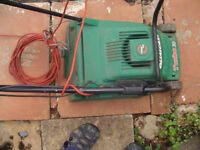 Qualcast turbo vac 30 electric lawn mower -fully working