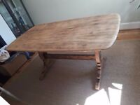 Dining Table Vintage And Solid