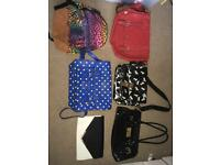 Various bags for sale.