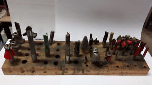 COLLECTION OF ROUTER BITS