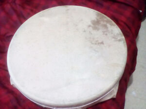 Caribou Skin, hand made, First Nation Drum