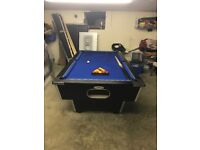 7ft by 4ft pool table great condition Cookstown area cues and balls
